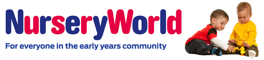 Nursery World banner - For everyone in the early years community