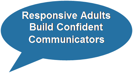 Responsive Adults Build Confident Communicators