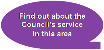 Find out about the Council's service in this area